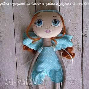 anioŁek lalka - dekoracja tekstylna, ooak one of a kind, aniołek