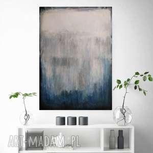 abstrakcja-obraz akrylowy formatu 50/70 cm, abstrakcja, akryl, obraz, płótno