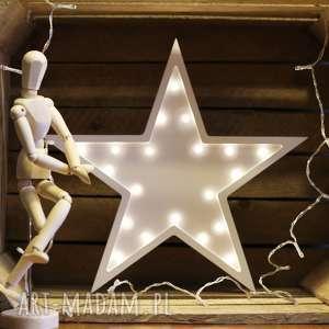 podświetlana gwiazdka - lampka 30 cm, gwiazda, gwiazdka, lampa, dziecko