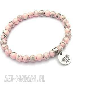 ręcznie zrobione bransoletki alloys collection /sweet pink/ 12.07.18 - bransoletka