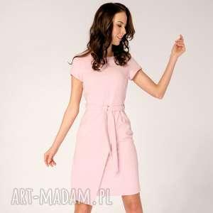 Sukienka Silena Różowa Roz. 36, kopertowa-sukienka, elegancka-sukienka