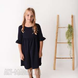 latori - sukienka damska mama i córka lm51/5, sukienka, odcinana, marszczona