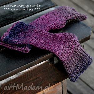 rękawiczki mitenki - rękawiczki, mitenki, prezent, ocieplacze, wełniane