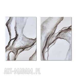 Airborne 2, abstrakcja, obraz ręcznie malowany aleksandrab obraz