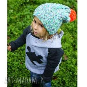 unikalny prezent, czapunia ammm mode 2, braininside, czapka, zima, dla-dziecka