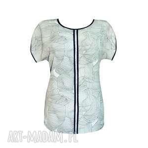 wzorzyste kimono, bluzka, wzór, kimonko, top, liście