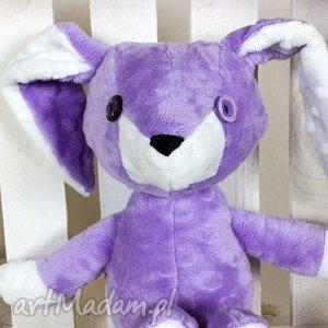 królik ernest , królik, króliczek, maskotka, przytulanka, pluszowy, minky maskotki