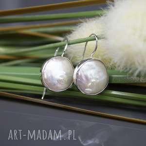 kolczyki perła słonowodna - kolczyki sasha