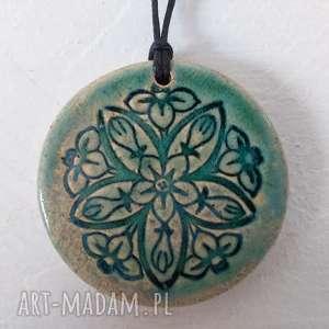 wisiorki flower wisiorek, wisiorek kwiatek, ceramiczny, wisior, ceramiczny