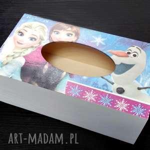 chustecznik - pudełko na chusteczki frozen, pokój dziecka, prezent, frozen