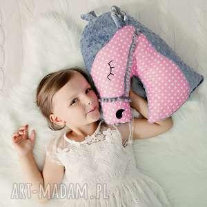 Przytulanka dziecięca koń maskotki ateliermalegodesignu poduszka