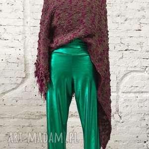 spodnie w rytmie disco-spodnie, seksowne, cekinowe, świecące, proste, wygodne
