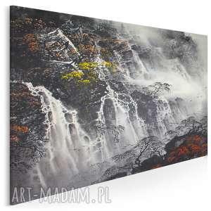 Obraz na płótnie - WODOSPAD PEJZAŻ CHINY 120x80 cm (79301), wodospad, pejzaż