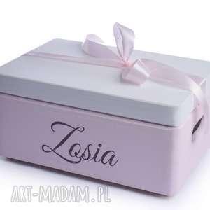 Prezent Pudełko na pamiątkę Urodziny Chrzest, pudełko-na-prezent, przechowywanie