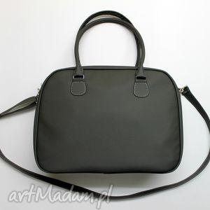 kuferek weekend - ciemny szary stalowy, prezent, elegancka, nowoczesna, kufer