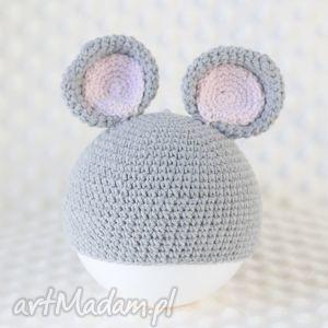 handmade czapeczka myszka