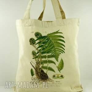 Torba Paprociak - płócienna, torba, na-zakupy, eco