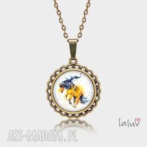 Prezent Medalion okrągły mały KOŃ, prezent, konik, stadnina, podkowa, kopyto, siodło