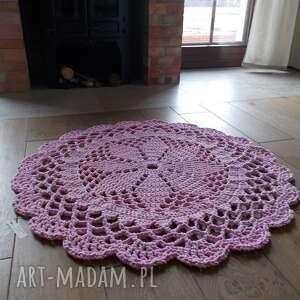 dywan dace, 100 cm, różowy