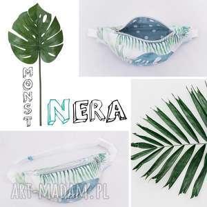 nerka liście tropikalne monstera, nerka, biodrówka, saszetka,