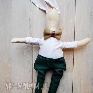 pomysł na świąteczny upominek Pan Królik, przytulanka, szmacianka, dla, dziecka