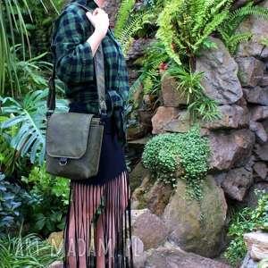 Safari vegan zieleń czerń, torba, torebka, vege, vegan, lato
