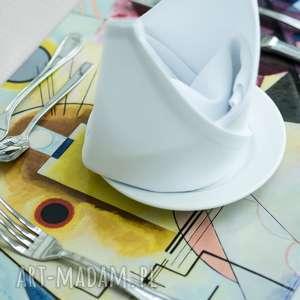 Prezent Duża podkładka na stół - Kandinsky, sztuka, stół, jadalnia, dekoracje
