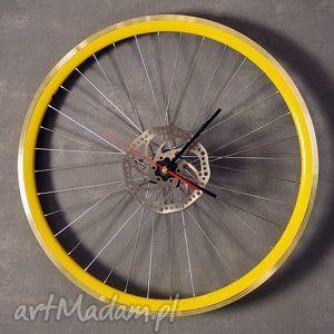 Prezent Zegar ścienny Times s up, zegar, industrialny, rower, prezent, loft