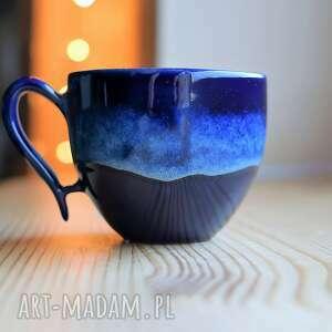 filiżanka ceramiczna laguna kobalt, filiżanka, ceramika, ceramiczna, morski