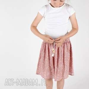 ręcznie zrobione ubranka spódnica w gwiazdki