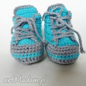 ręcznie wykonane buciki buciki szydełkowe