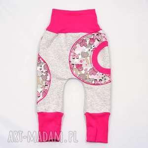 Prezent SAFARI Spodnie baggy Bawełniane Dwurozmiarowe, 62-104, spodnie,