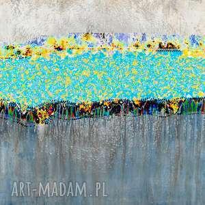 obraz do nowoczesnego salonu, 100 x 60, abstrakcja, elegancki minimalizm