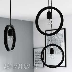 lampy potrójna lampa spider, okrągła, potrójna, pająk, żyrandol, loft