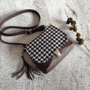 hand-made mini torebka, listonoszka