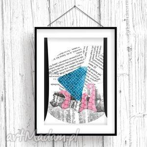 Morska Opowieść... ilustracja dla dzieci, obraz, ilustracja, chłopiec, statek, morze