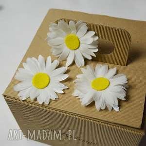 fascynatory stokrotki, stokrotka, kwiat, spinka, oryginalne prezenty