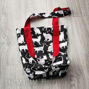eco torba bawełniana, torba, szoperka, koty