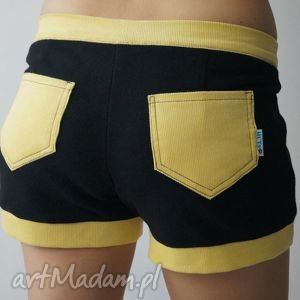 ręcznie robione spodnie sweet shorts