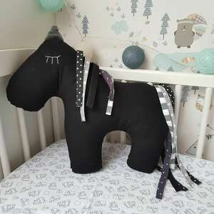 pod choinkę prezent, konik, koń, dla chłopca, horse, poducha, bawełna