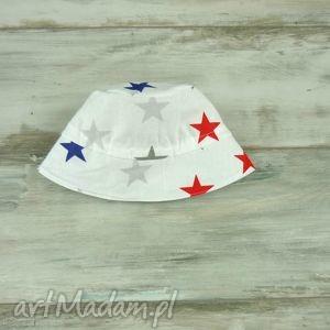 kapelusz dla dziecka gwiazdki - dziecięcy, wiosenny, letni