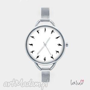 Prezent Zegarek z grafiką SILLY WALK, bransoletka, prezent, monty, python, śmieszny