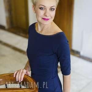 Sukienka ołówkowa Melagrana Ragazza, ołówkowa, prosta, elegancka, do-pracy, klasyka