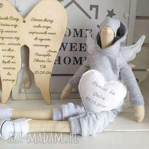 lalki anioł tilda lalka pamiątka chrzest święty, anioł, tilda, pamiątka, chrzu