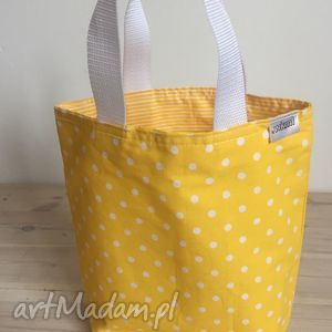 Prezent Lady with yellow, prezent, grochy, śniadanie, lunch, pudełka, box