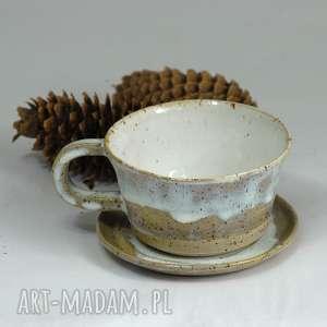 Prezent Filiżanka do kawy - piegus modne nowoczesne wzornictwo, prezent, dokawy