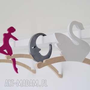 timosimo wieszak na ubranka dziewczynki -baletnica, wieszak, ubranka, dziecko