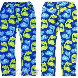 spodnie dziecięce całoroczne dresówka dino, spodnie, dla dzieci