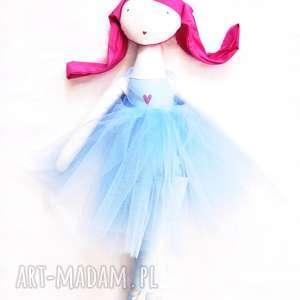 ana, tańcząca chmurka, szmacianka, lalka, baletnica, balet, tancerka, tutu
