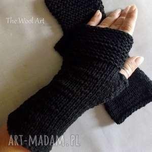 rękawiczki mitenki, rękawiczki, bawełna, prezen, nadłonie